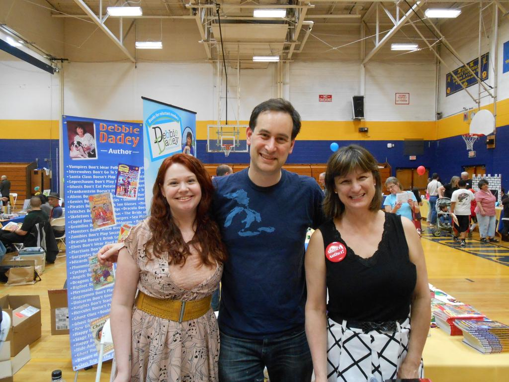 Andrea Cremer, David Levithan, and Debbie