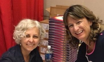 Kate DiCamillo and Debbie