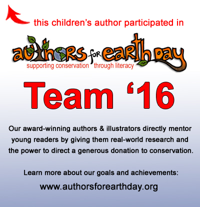 Authors for Earth Day badge