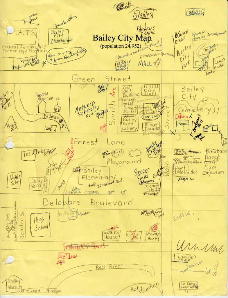 Bailey City map