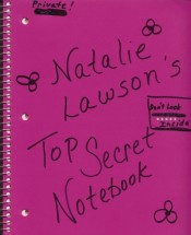 Natalie's Notebook Cover