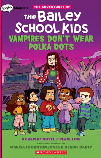 Vampires Don't Wear Polka Dots graphic novel